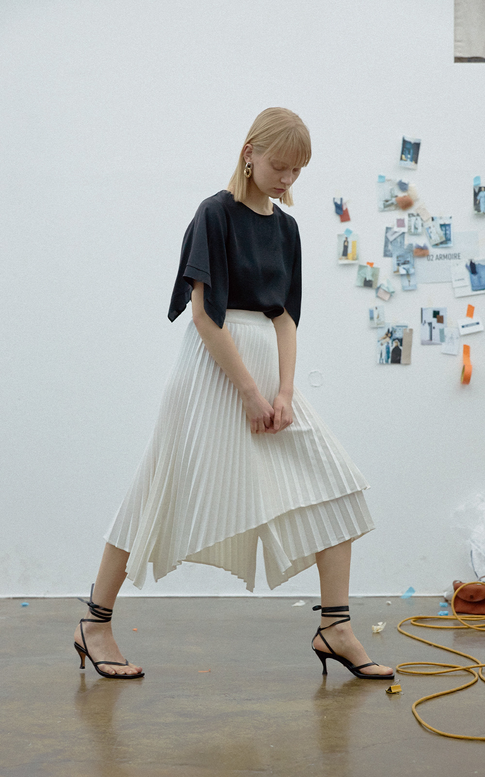 Madison Skirt _ Off White