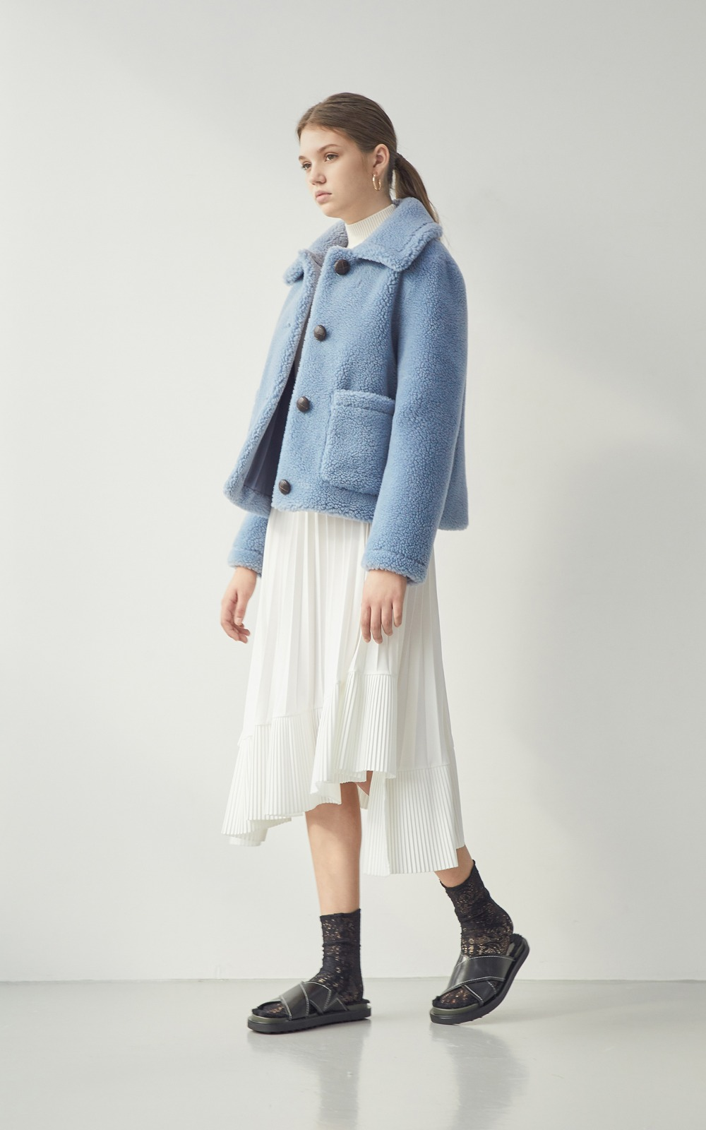 Abby Jacket _ Blue [2차 Re-order]